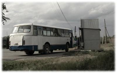 Старый автобус ЛАЗ, фото, Олег Чувакин, посылать рукописи в журналы