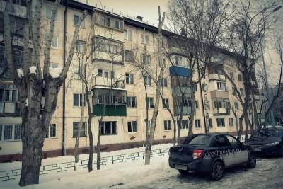 Тюмень, город, дома, окна, пятиэтажки, хрущёвки, фото
