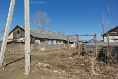 Деревенская улица, старое село, мусор, помойка, свалка, грязь, нищета, Россия