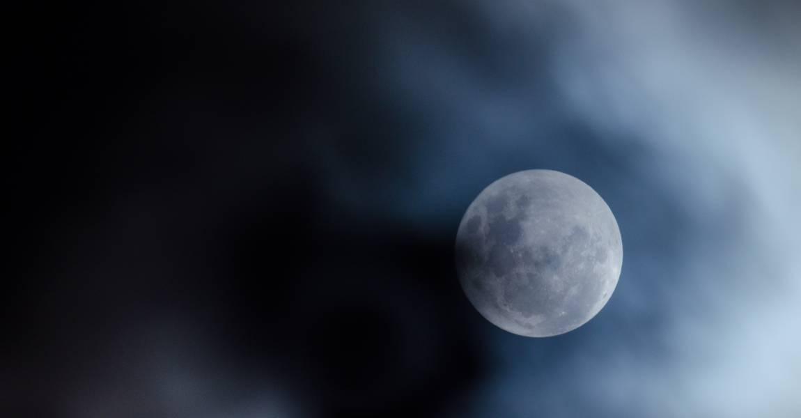 Луна, ночь, фото