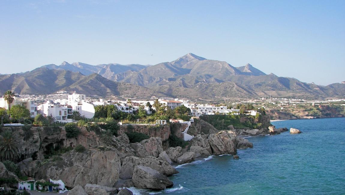 Испания, Андалусия, Коста дель Соль, балкон Европы, курорт, пляж, море