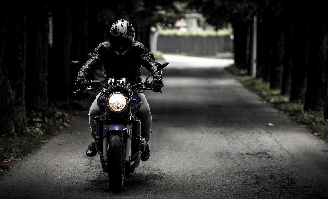 Мотоциклист, байкер, мотоцикл