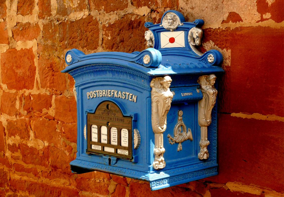 Почтовый ящик, письма, почта