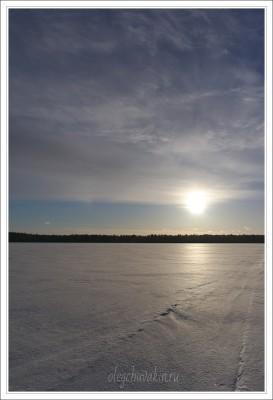 Небо, снег, солнце, фото, Олег Чувакин, 09