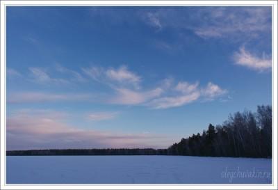 Небо, снег, солнце, фото, Олег Чувакин, 13