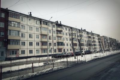 Тюмень, 5-этажные дома, окна, фото