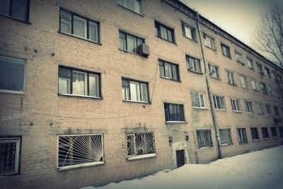 Тюмень, город, фото, дома, окна, 4-этажное общежитие КСК