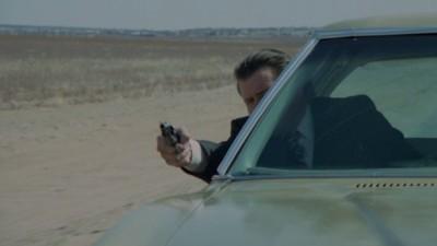 Убийца астронавта, Сними его, Ангар 18, кадо, револьвер, выстрел