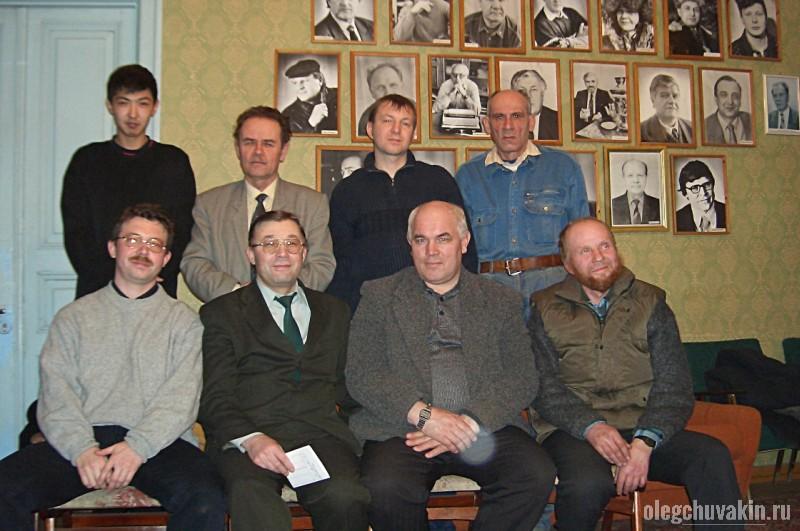 Литобъединение при Союзе писателей, Тюмень, 2004, Виктор Захарченко, фото