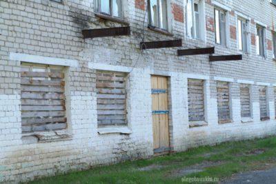 Сельское ПТУ, давно закрыто, разруха, село, Россия, фото