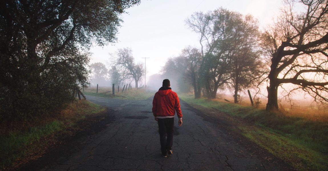 Человек, дорога, фото, иллюстрация, рассказ Султонова Исажона Абдураимовича, Дивный сад