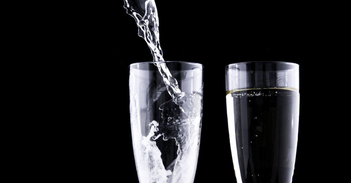 Бокалы, шампанское, аперитив, фото, иллюстрация