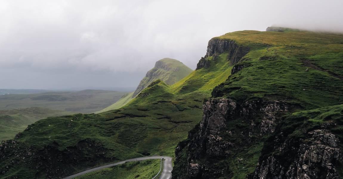 Горы, дорога, фото
