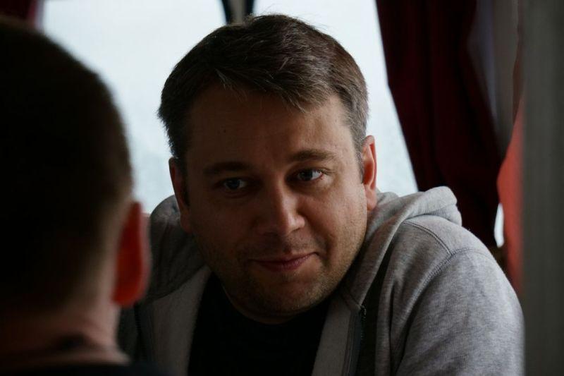 Поэт Андрей Шевцов, Тюмень, фото