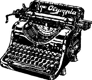 Пишущая машинка, писатель, читатель