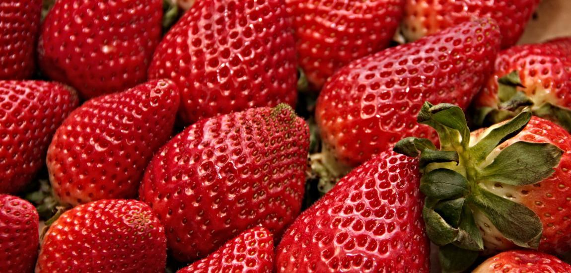 Клубника, ягоды, для клубничного торта