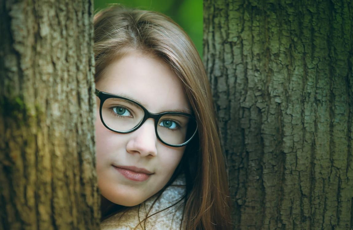 Девушка в очках, очки и любовь, рассказ