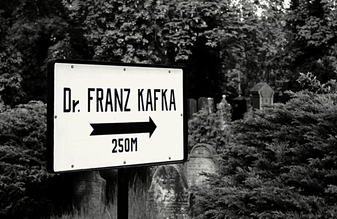 Франц Кафка, доктор Кафка, кладбище, указатель
