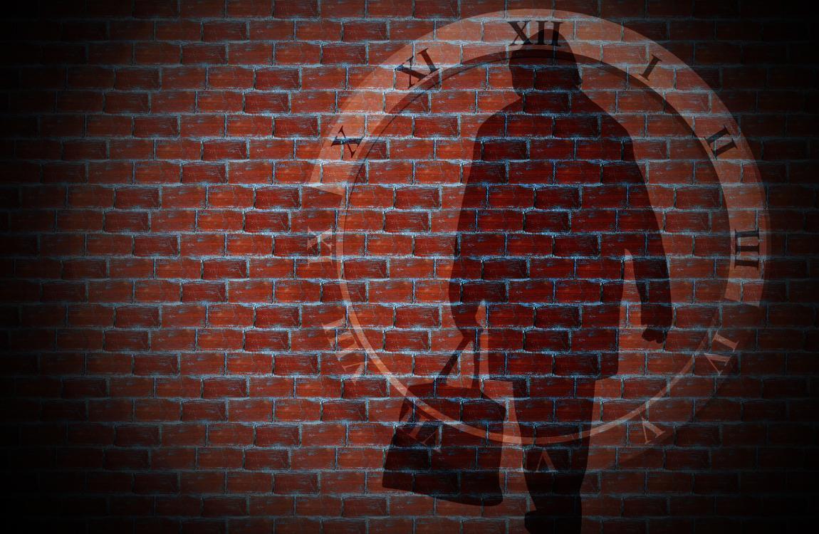 Забывчивость, стена, воспоминания, человек