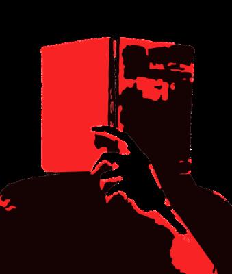 Читатель, читает, Брэдбери, книга, 451 градус по Фаренгейту