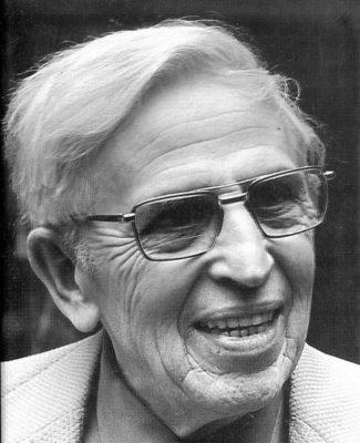 Клиффорд Саймак, портрет, в старости, фото
