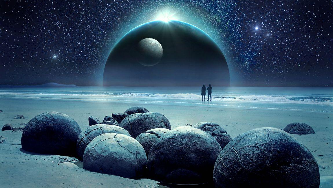Космос, фантазия, вдохновение, муза, планета муз