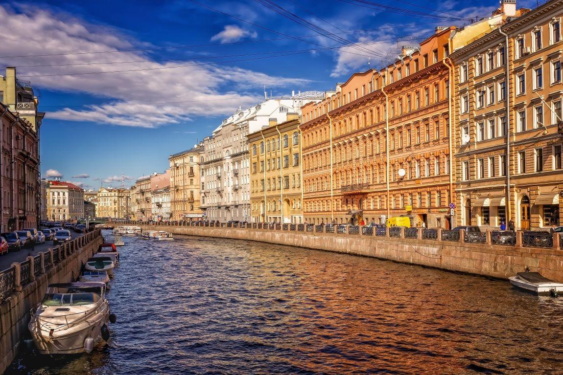 Санкт-Петербург, Нева, лодки