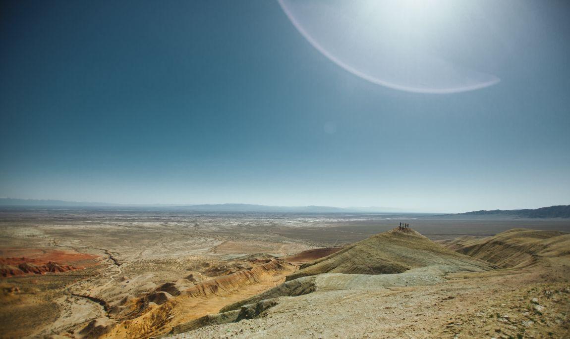 Казахстан, степь, Алма-Ата