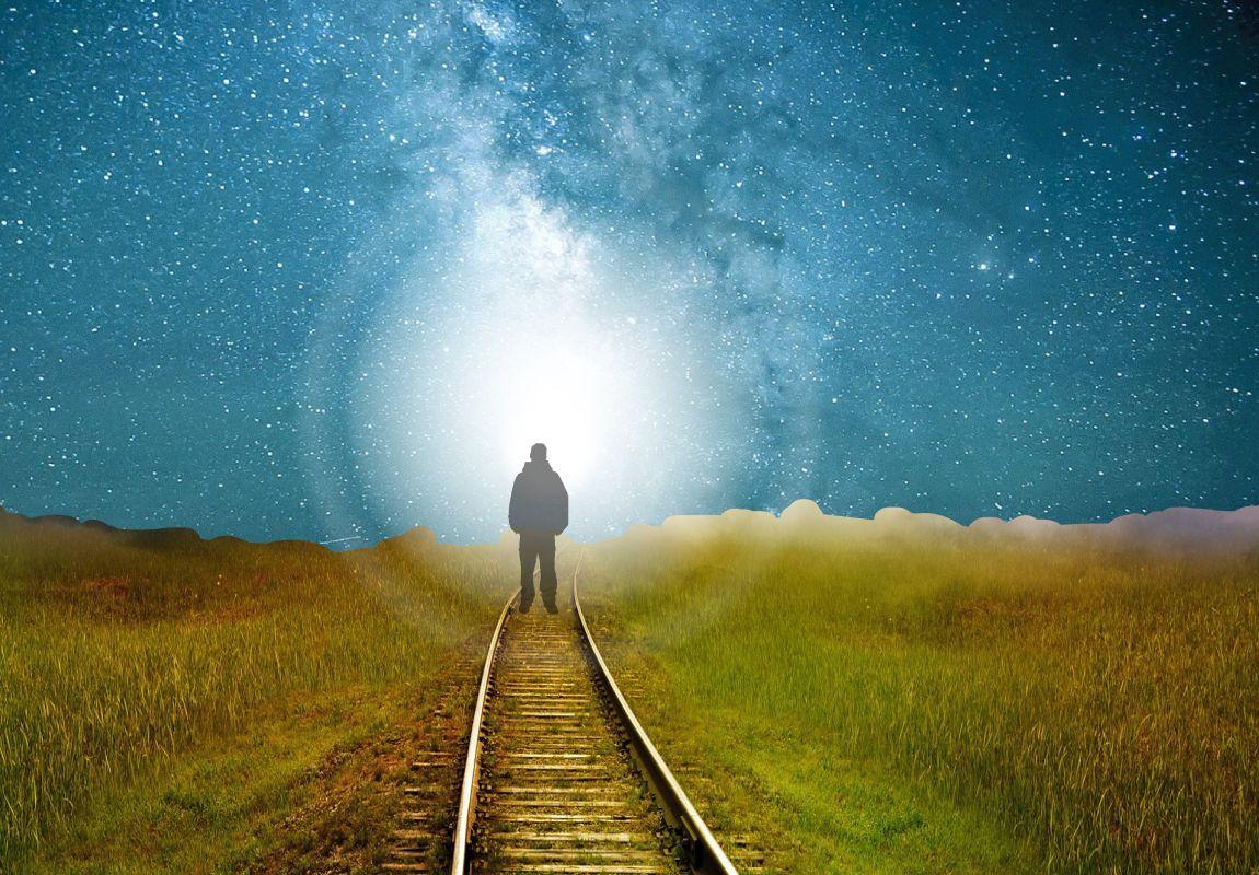 Вечность, дорога, рай, небо, путь