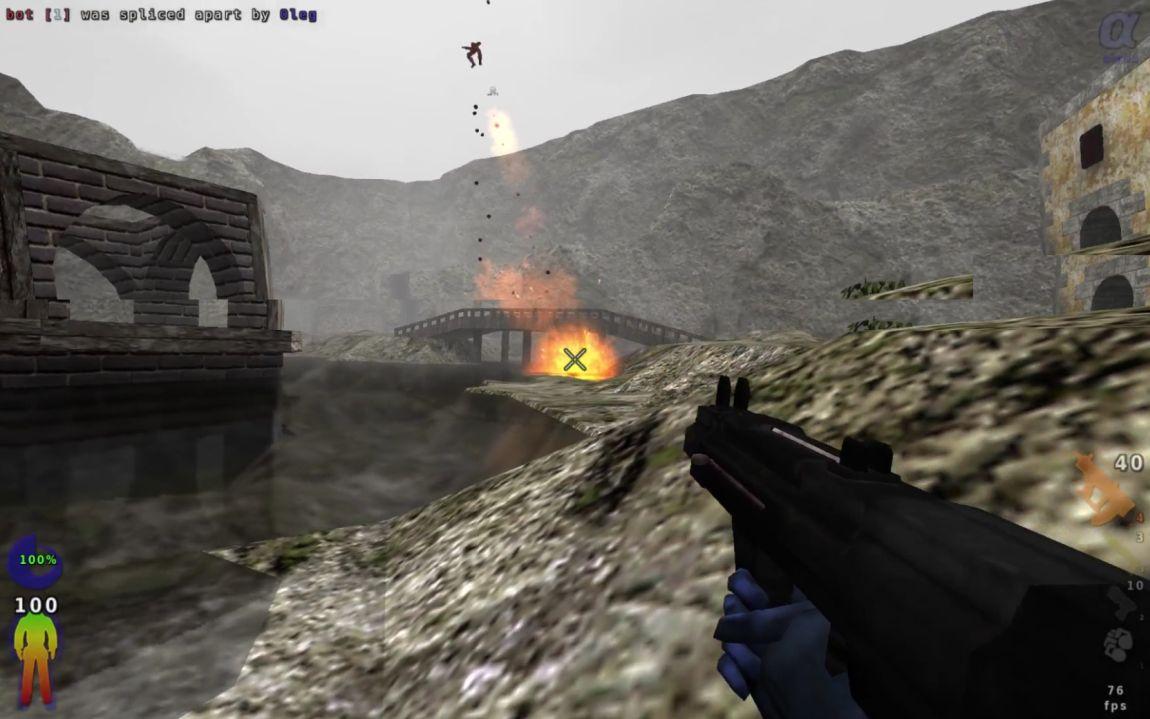 Blood Frontier, компьютерная игра, шутер, скриншот