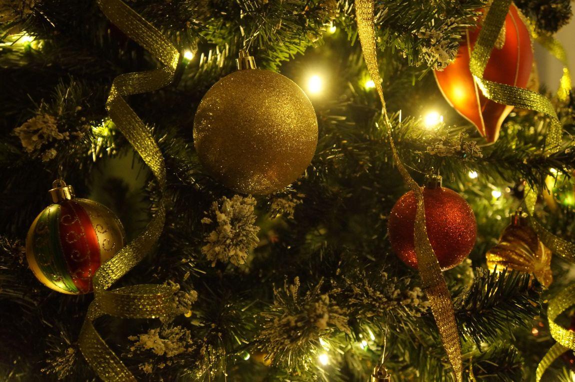 Новый год, новогодняя ёлка, зелёная, игрушки, чудо